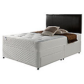 Silentnight Miracoil Comfort Ortho Tufted Non Storage Double Divan