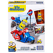 Mega Bloks Minions Small Playset - Scooter Escape