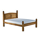 Home & Haus Corona Low End Bed Frame - Double