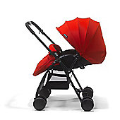Mee-Go Feather Lightweight Stroller - Red