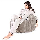 Lounge Pug™ Classic Cord Bean Bag - Ivory