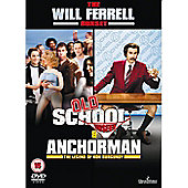 ANCHORMAN/OLD SCHOOL DBL DVD