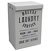 Deluxe Laundry Service Hamper Grey