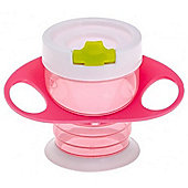 Brother Max Easy-Hold Sippy Cup (Pink/Green)