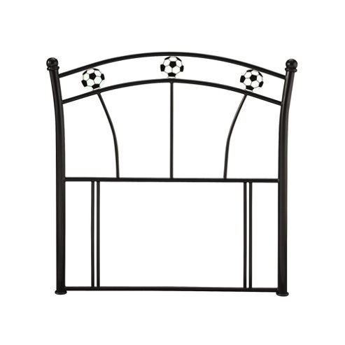 Serene Furnishings Soccer Single Headboard - Black