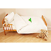Saplings Dino Bedding in White finish