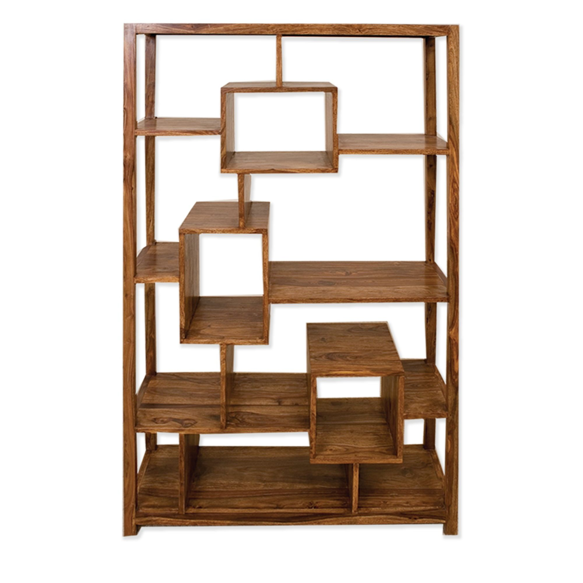 Elements Cubex Living Geometric Bookcase in Warm Lacquer at Tesco Direct