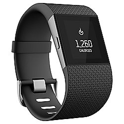 Fitbit Surge Fitness Tracking Smartwatch w/ Built in Heart Rate Monitor, Large