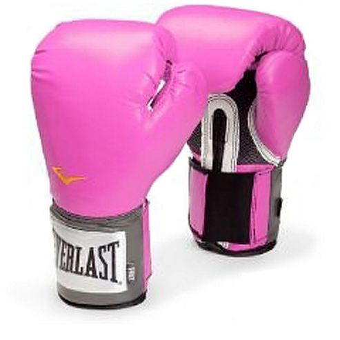 Everlast Womens Pro Style Training Glove Pink 12oz