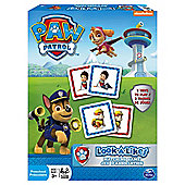 Paw Patrol Nickelodeon Look-A-Likes Matching Game