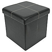 Ottoman Single Seat Black