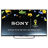 Sony KDL50W829BBU 50 Inch 3D Smart WiFi Built In Full HD 1080p LED TV with Freeview HD