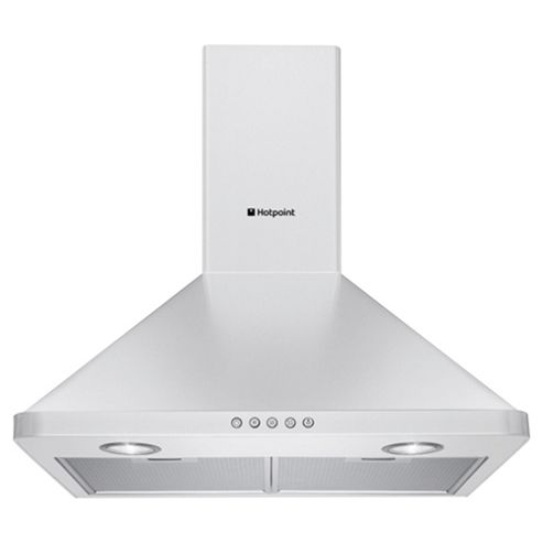 Hotpoint Cooker Hood, HHP6.5CM(WH), White