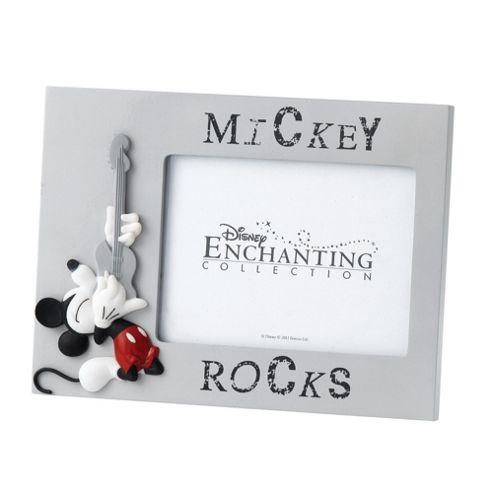 Enesco Enchanting Disney Mickey Rocks Mickey Mouse Photo Frame