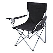 Gelert Tourer Executive Camping Chair, Black