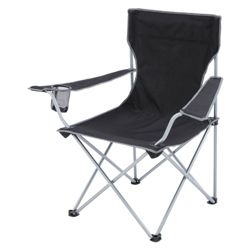 Gelert Tourer Executive Camping Chair, Black