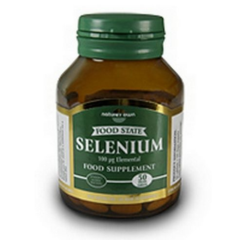 Natures Own Selenium 100ug 50 Tablets