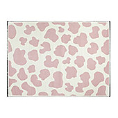 Lorena Canals Vaca Pink Children's Rug - 140 cm W x 200 cm D (4 ft 9 in x 6 ft 6.5 in)