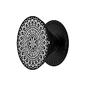 Monochrome Mandala Popsocket - Phone Stand and Grip