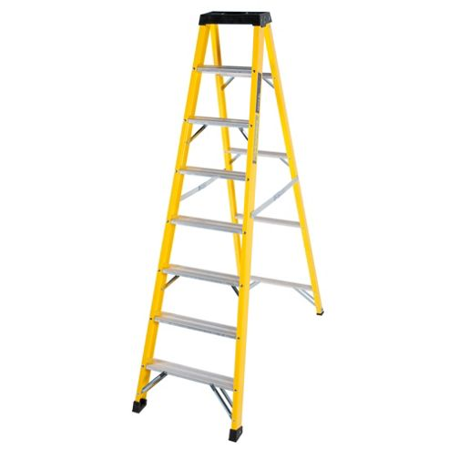 Trade 7 Tread GRP Fibreglass Step Ladder
