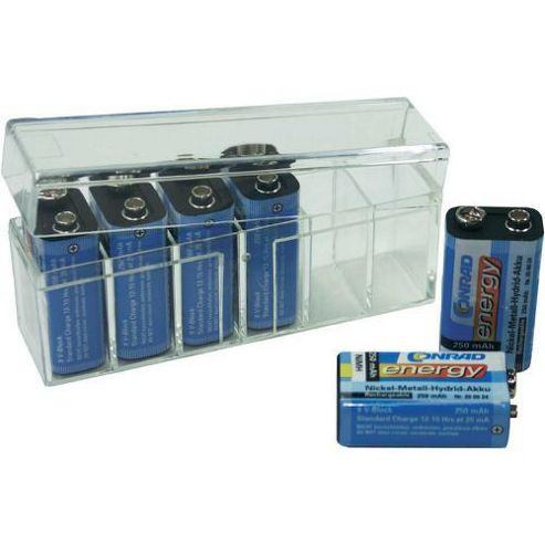 Conrad 9 V Battery Box 6 X 9
