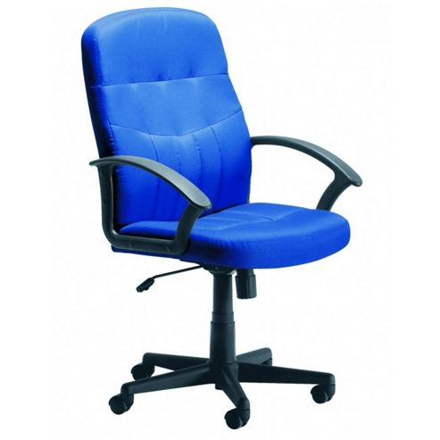 Office Basics Cavalier Fabric Manager Chair - Blue