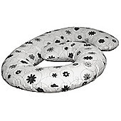 By Carla Cuddle Me Pregnancy Pillow (Silver Bloom)