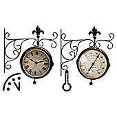 Fallen Fruits Clock and Thermometer Set