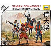 Zvezda - Samurai Commanders 1/72 6411