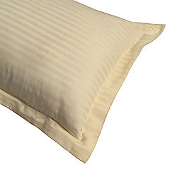 Homescapes Cream Egyptian Cotton Ultrasoft King Size Oxford Pillowcase 330 TC