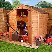 BillyOh 20 4 x 6 Windowless Rustic Overlap Apex Shed