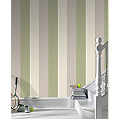 Superfresco Java Stripe Wallpaper - Spring Green