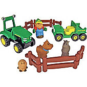 John Deere - Farming Fun Play Set - Tomy