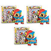 """Unicornos by Tokidoki - 3 x Series 3 Blind Box 2.75"""" Collectable Vinyl Figure"""