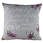 Family Love Cushion