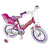 "Hello Kitty 14"" Kids' Bike with Stabilisers"