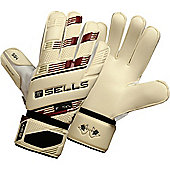 Sells V.V. Excel 4 Junior Goalkeeper Gloves - White