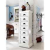 Whitehaven Painted 7 Drawer Wellington