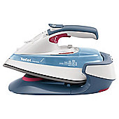 Tefal FV9915 Ceramic Plate Steam Iron - Iceberg Blue & White