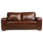 Idaho Medium 3 Seater  Sofa Leather Antique Chestnut