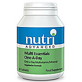 Nutri Ltd Multi Essentials One A Day 60 Tablets