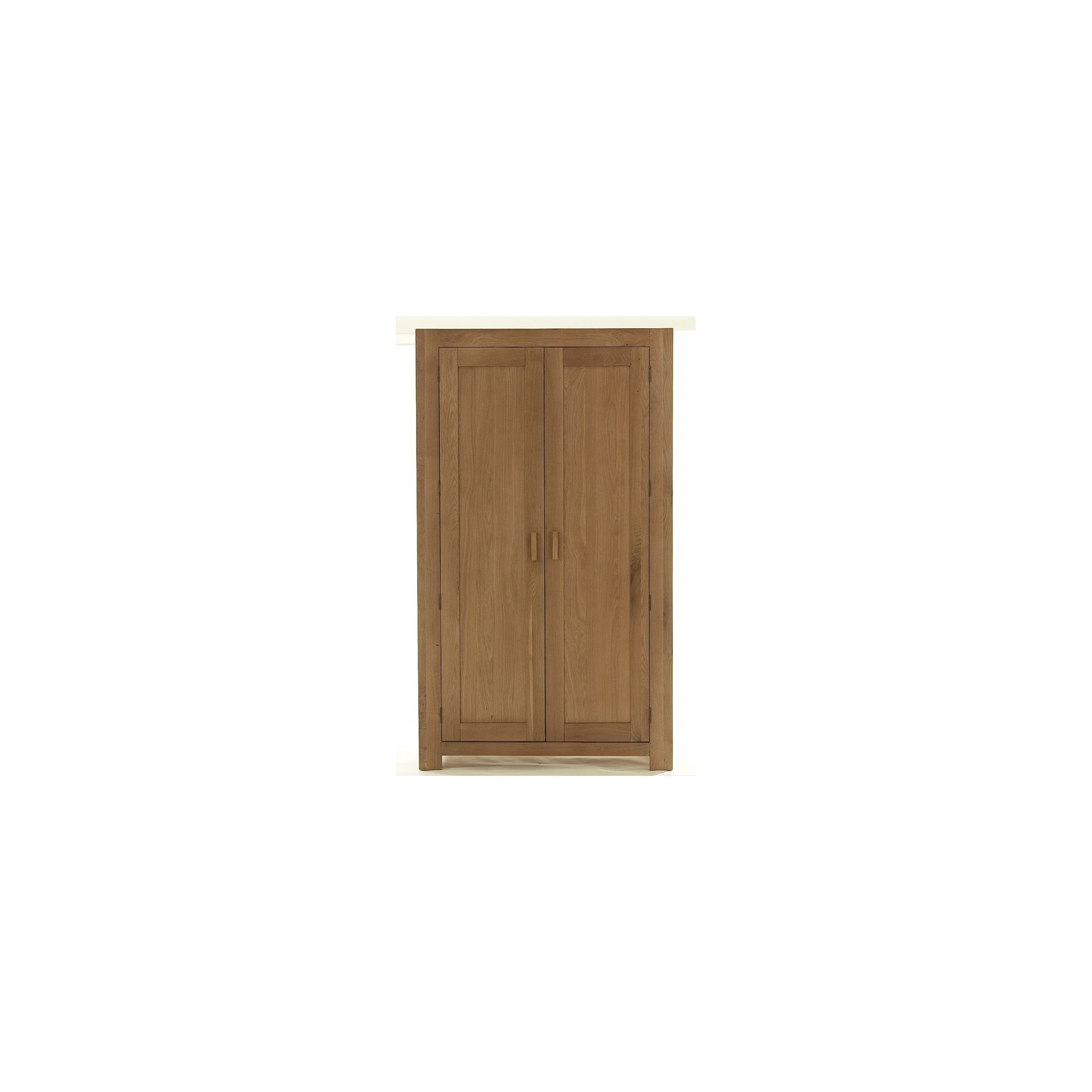 Thorndon Block Bedroom Full Hanging Wardrobe in Natural Matured Oak at Tesco Direct