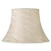Endon Lighting Catrice Shade in Cream Silk Effect Fabric - 22 x 31