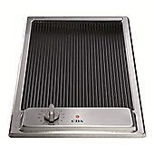 CDA HCC310SS Domino Ceramic Electric Griddle in Stainless steel