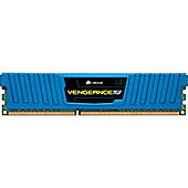 Corsair Vengeance Low Profile 8GB Memory Module PC3-12800 1600MHz DDR3 DIMM (Blue)