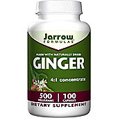 Jarrow Ginger 6:1 Concentrate 500mg 100 Capsules