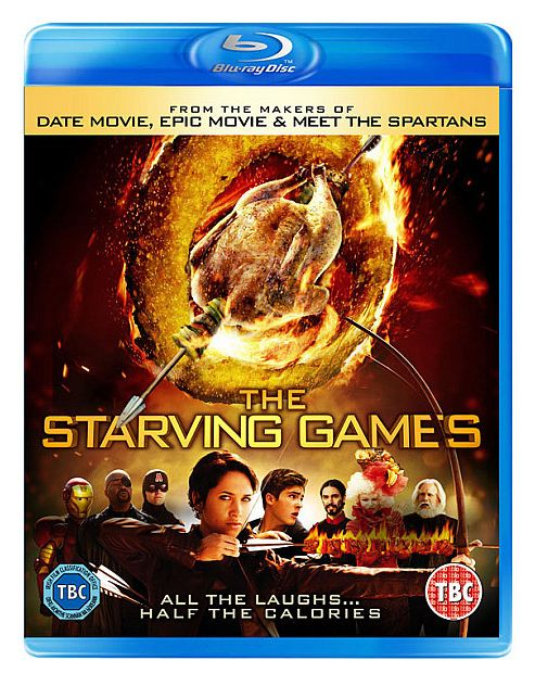 The Starving Games Blu-Ray