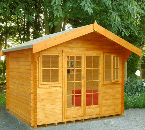 Buy Finewood Clipstone Wooden Log Cabin 14x10ft From Our