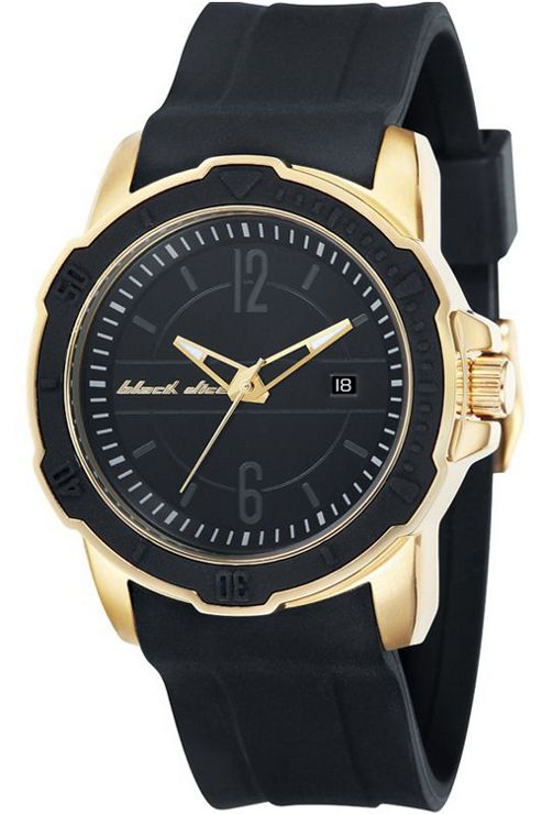 Black Dice Gents Rubber Strap Watch BD06503