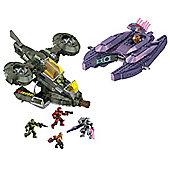 Mega Bloks Halo Hornet v Covenant Vampire